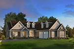 Country House Plan Front of House 121D-0047