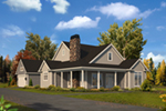Country House Plan Front of House 121D-0051