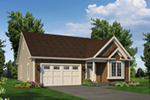 Craftsman House Plan Front of House 121D-0052