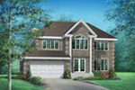 Traditional House Plan Front of House 126D-0006