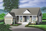 Country House Plan Front of Home - Anibel Country Ranch Home 126D-0307 | House Plans and More