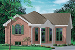 European House Plan Front of House 126D-0313