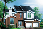 European House Plan Front of Home - Garton Neoclassical Home 126D-0321 | House Plans and More