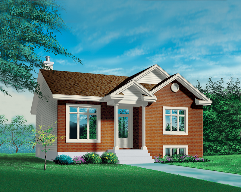 Ranch House Plan Front of Home - Nevin Traditional Ranch Home 126D-0325 | House Plans and More