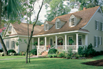 Farmhouse Plan Front of Home - Ericson Southern Plantation Home 128D-0002 | House Plans and More