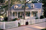 Country House Plan Front of Home - Quail Ridge Cottage Home 128D-0003   House Plans and More