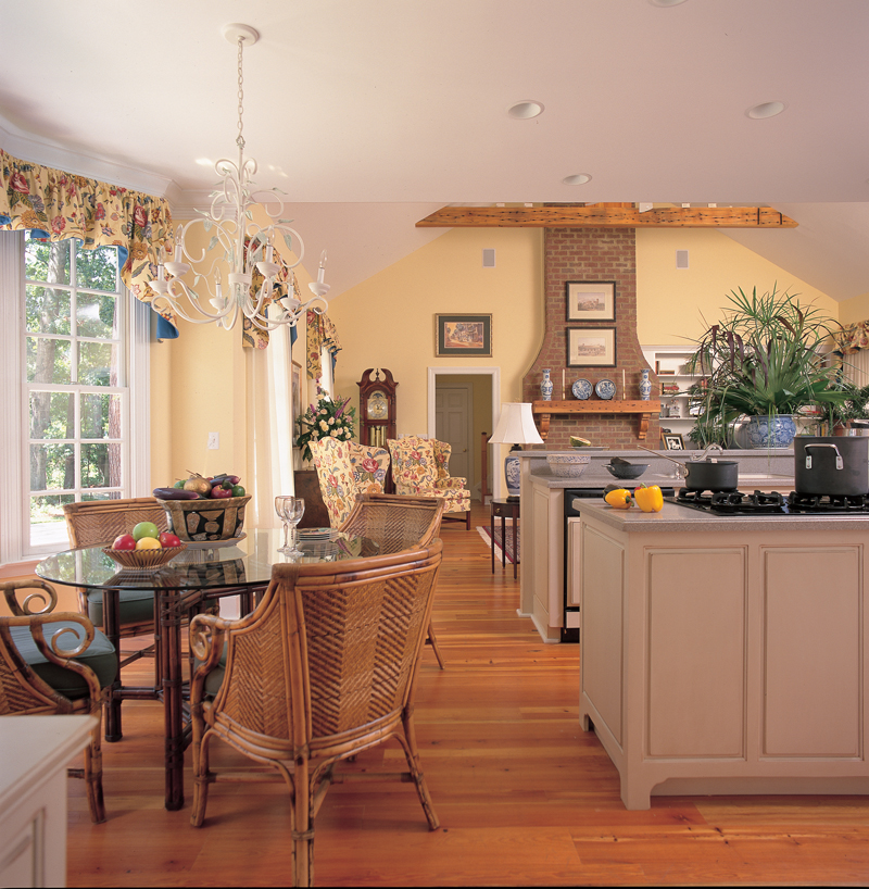 Country House Plan Kitchen Photo 01 - Quail Ridge Cottage Home 128D-0003   House Plans and More