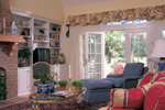 Country House Plan Living Room Photo 01 - Quail Ridge Cottage Home 128D-0003   House Plans and More