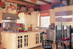 Traditional House Plan Kitchen Photo 01 - Garrison Colonial Home 128D-0004 | House Plans and More