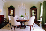 Traditional House Plan Dining Room Photo 01 - Staunton Hill Colonial Home 128D-0006 | House Plans and More