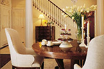 Traditional House Plan Dining Room Photo 02 - Staunton Hill Colonial Home 128D-0006 | House Plans and More