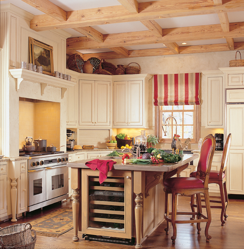 Traditional House Plan Kitchen Photo 01 - Staunton Hill Colonial Home 128D-0006 | House Plans and More