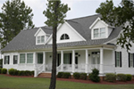 Ranch House Plan Front Photo 02 - Backbay Cottage Country Home 128D-0017   House Plans and More