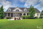 Ranch House Plan Rear Photo 01 - Backbay Cottage Country Home 128D-0017   House Plans and More
