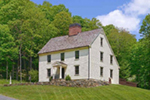Farmhouse Plan Front of Home - Guilford Hill Colonial Home 128D-0075 | House Plans and More