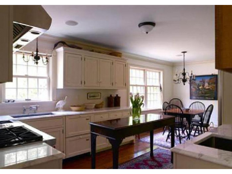 Farmhouse Plan Kitchen Photo 01 - Guilford Hill Colonial Home 128D-0075 | House Plans and More