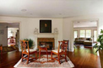 Farmhouse Plan Living Room Photo 01 - Guilford Hill Colonial Home 128D-0075 | House Plans and More