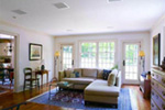 Farmhouse Plan Living Room Photo 02 - Guilford Hill Colonial Home 128D-0075 | House Plans and More
