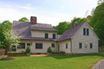 Farmhouse Plan Rear Photo 01 - Guilford Hill Colonial Home 128D-0075 | House Plans and More