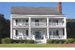 Southern Plantation House Plan Front of Home - Nelson House Plantation Home 128D-0107 | House Plans and More