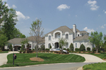 Luxury House Plan Front of Home - Howards Ridge Luxury Home 129S-0011   House Plans and More