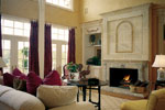 Luxury House Plan Living Room Photo 01 - Howards Ridge Luxury Home 129S-0011   House Plans and More