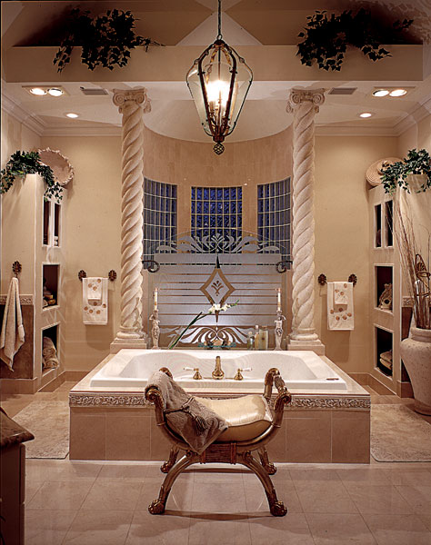 Luxury House Plan Master Bathroom Photo 01 - Howards Ridge Luxury Home 129S-0011   House Plans and More