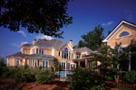Luxury House Plan Rear Photo 03 - Howards Ridge Luxury Home 129S-0011   House Plans and More