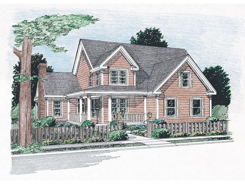 Backwoods Farmhouse Plan 130d 0143