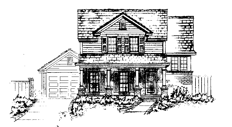 Country House Plan Front of Home - Pattyanna Country Home 137D-0007 | House Plans and More