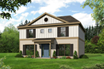 Country House Plan Front of House 141D-0004