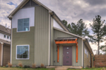 Rustic Home Plan Front of House 141D-0011