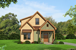 Rustic Home Plan Front of House 141D-0019