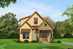 Rustic Home Plan Front of House 141D-0020