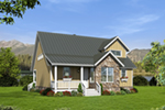 Country House Plan Front of House 141D-0023