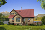 Arts & Crafts House Plan Front of House 141D-0024