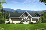 European House Plan Front of Home -  141D-0099 | House Plans and More