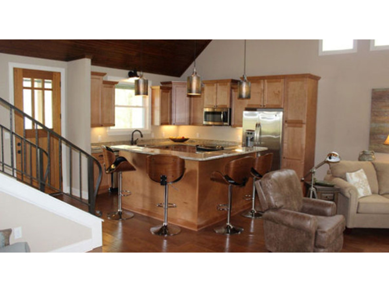 Arts & Crafts House Plan Kitchen Photo 03 -  141D-0145 | House Plans and More