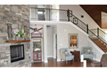 Arts & Crafts House Plan Stairs Photo 01 -  141D-0145 | House Plans and More