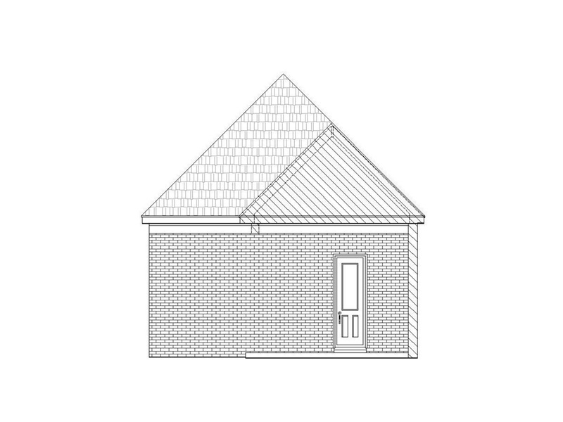 Craftsman House Plan Garage Photo -  141D-0246 | House Plans and More