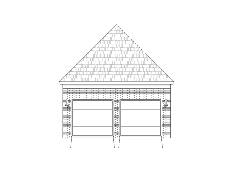 Craftsman House Plan Rear Photo 02 -  141D-0246 | House Plans and More