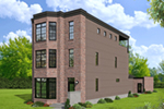 Modern House Plan Front of Home - 141D-0269 | House Plans and More