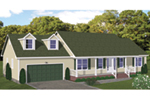 Traditional House Plan Front of House 143D-0003