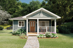 Craftsman House Plan Front of Home - 144D-0013 | House Plans and More