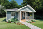 Craftsman House Plan Front Photo 01 - 144D-0013 | House Plans and More