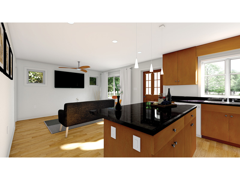 Craftsman House Plan Kitchen Photo 01 - 144D-0013 | House Plans and More