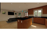 Craftsman House Plan Kitchen Photo 02 - 144D-0013 | House Plans and More