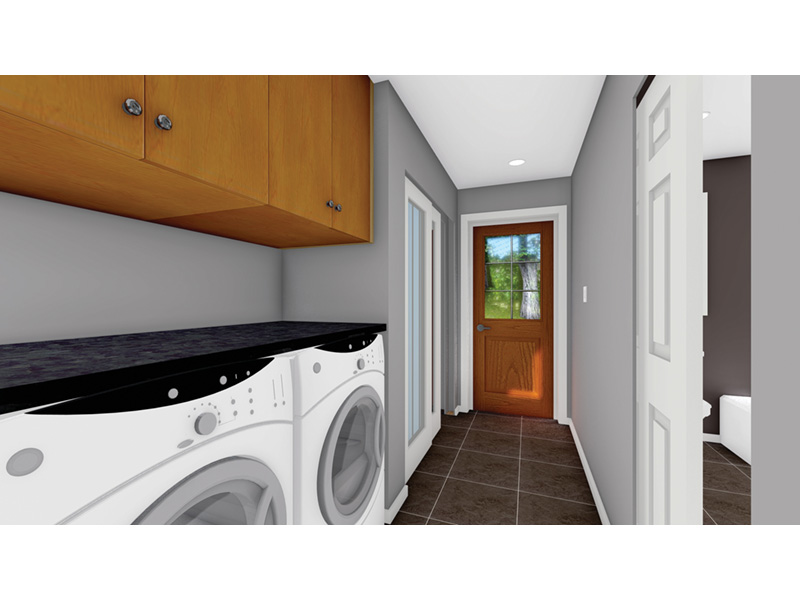 Craftsman House Plan Laundry Room Photo 01 - 144D-0013 | House Plans and More