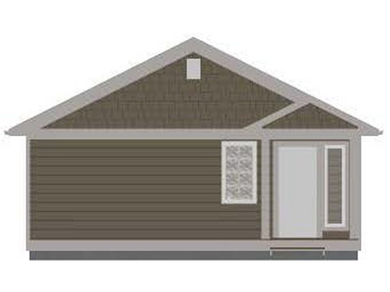 Craftsman House Plan Rear Photo 01 - 144D-0013 | House Plans and More