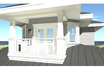 Vacation House Plan Balcony Photo - 152D-0130 | House Plans and More
